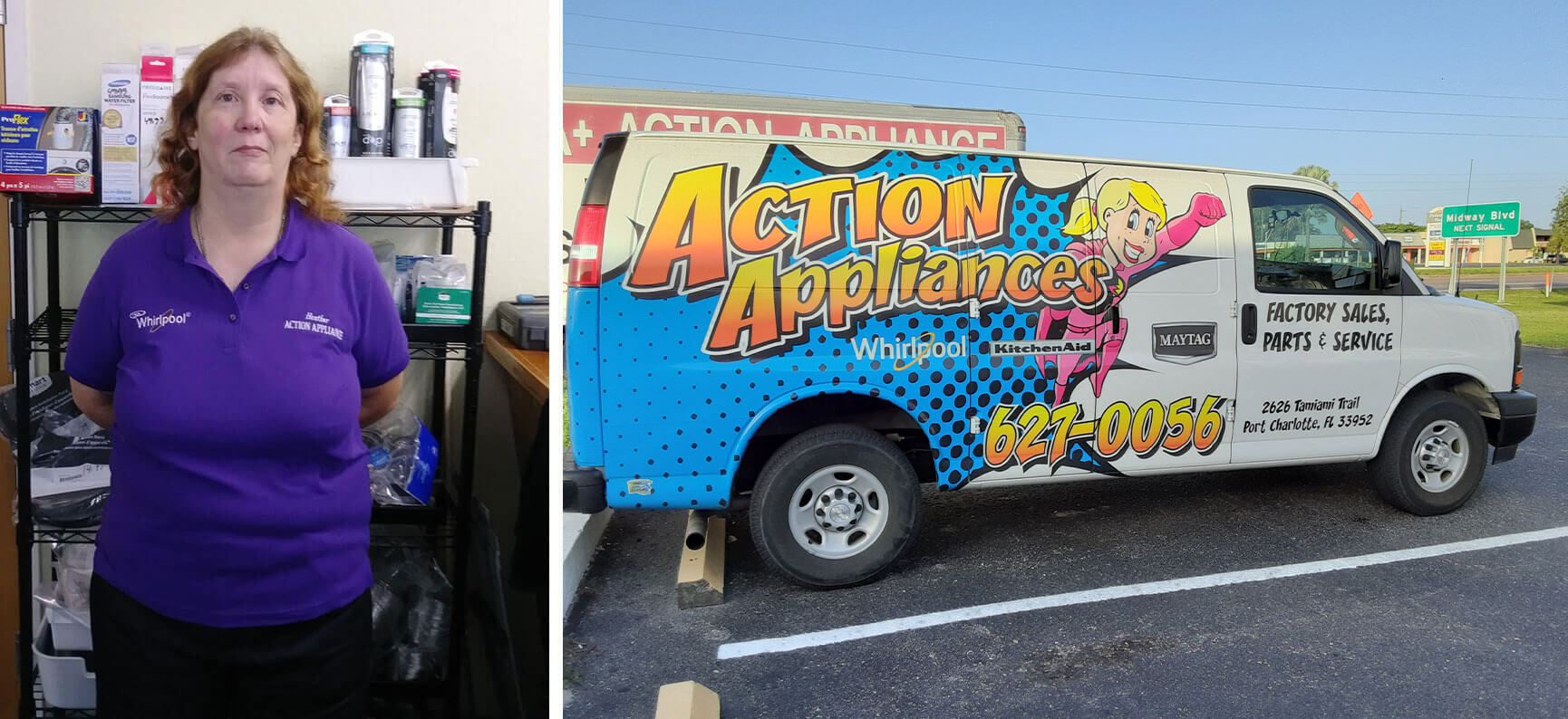 Action Appliance wins Best of Port Charlotte